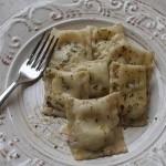 ravioli taleggio e tartufo